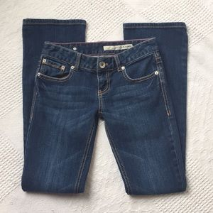 DKNY Time Square Flare Jeans